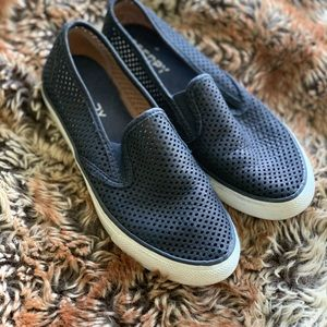 Perforated Slip on Sperrys